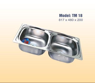 Chậu rửa bát tân mỹ TM18