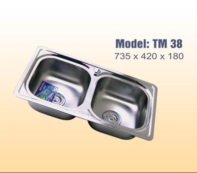 Chậu rửa bát tân mỹ TM38